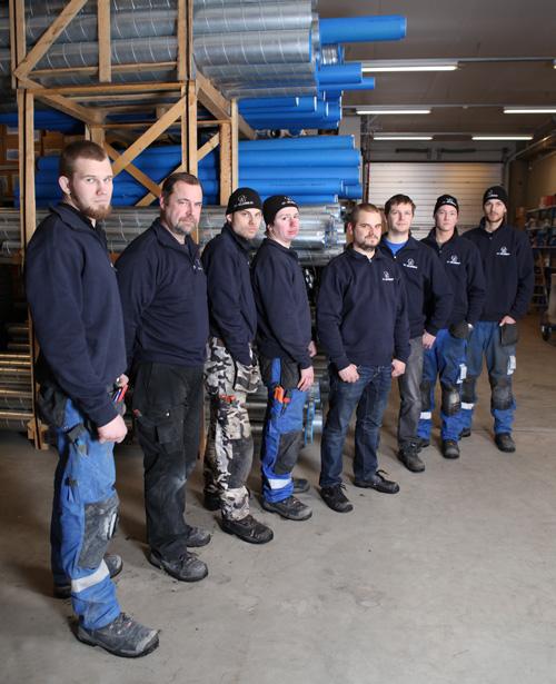 LVI Valkonen Oy asennusryhmä